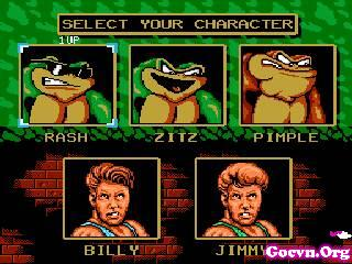Tải game song long ếch - battletoads double dragon chơi trên mobile