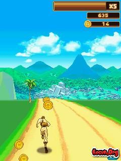 Tải game danger dash - temple run cho java y hệt trên android